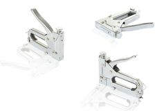 Three staple guns Royalty Free Stock Photo