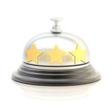 Three star hotel's reception bell Stock Photography