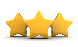 Three stars Stock Photos