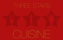 Three Stars Restaurant Stock Images