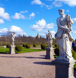 Three statues in the Park Royalty Free Stock Photography