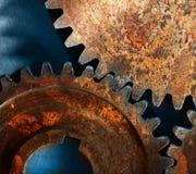Three steel cogwheels Royalty Free Stock Photography
