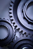 Three steel gears Royalty Free Stock Image