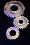 Three steel gears Royalty Free Stock Image