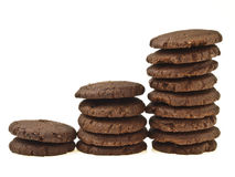 Three step stack cookie Stock Photography