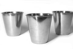 Three still cups Royalty Free Stock Photos