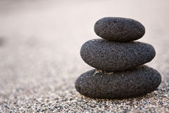 Three stones Royalty Free Stock Photography