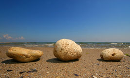Three stones Royalty Free Stock Photos