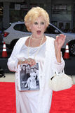 Three Stooges,Diana Darrin. LOS ANGELES - APR 10:  Diana Darrin arrives at The Three Stooges Premiere at Graumans Chinese Theater on April 10, 2012 in Los Royalty Free Stock Image