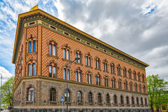 Three-storey Venetian Renaissance-style City Hall in Pori Stock Photography