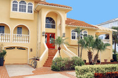 Three story home in the Tropics royalty free stock photography