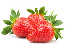 Three strawberry Stock Photos