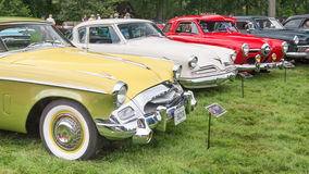 Three Studebaker Cars Stock Image