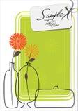 Three Stylish Vases Stock Images