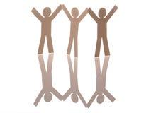 Three success icon Stock Images