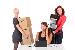 Three successful businesswomen Royalty Free Stock Image