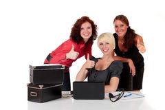 Three successful businesswomen Stock Image