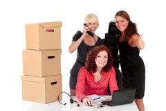 Three successful businesswomen Stock Photo