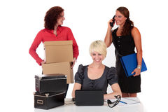 Three successful businesswomen Royalty Free Stock Photography