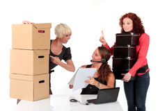 Three successful businesswomen Royalty Free Stock Images