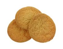 Three Sugar Cookies Stock Image