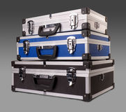 Three suitcases Royalty Free Stock Image