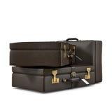 Three suitcases Stock Photography