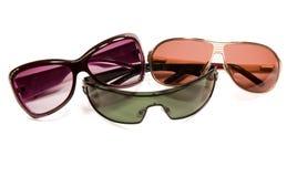 Three sun glasses Royalty Free Stock Photography