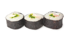 Three sushi Stock Photo