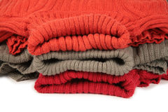 Three sweaters 2 Royalty Free Stock Photo