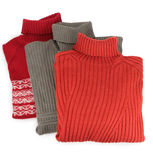 Three sweaters Stock Photo