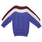 Three sweaters isolated Royalty Free Stock Image
