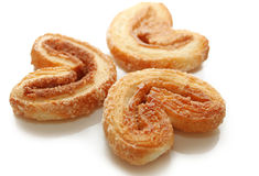 Three sweet cookies with cinnamon Royalty Free Stock Photo