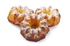 Three sweet cupcake Royalty Free Stock Photos