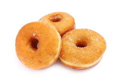 Three Sweet Donuts Stock Images
