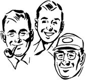Three Swell Guys Stock Photo
