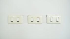 Three switch Stock Photography