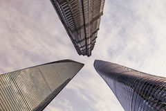 Three tallest buildings Royalty Free Stock Photography