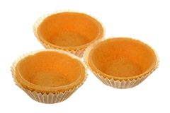 Three tartlets Stock Photography