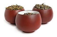 Three tea cups Royalty Free Stock Photography