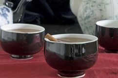 Three tea cups Royalty Free Stock Photos