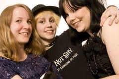 Three teen girls Stock Image