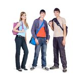 Three teenagers Stock Photo
