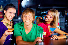 Three teens Royalty Free Stock Photos