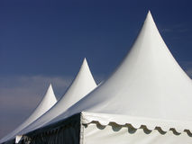 Three tents Royalty Free Stock Photos