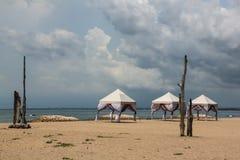 Three tents Royalty Free Stock Image