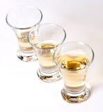 Three tequila glasses Stock Image