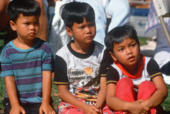 Three Thai boys Stock Photography