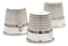 Three Thimbles Royalty Free Stock Photo