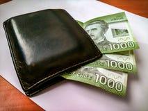 Three thousand Chilean pesos royalty free stock image